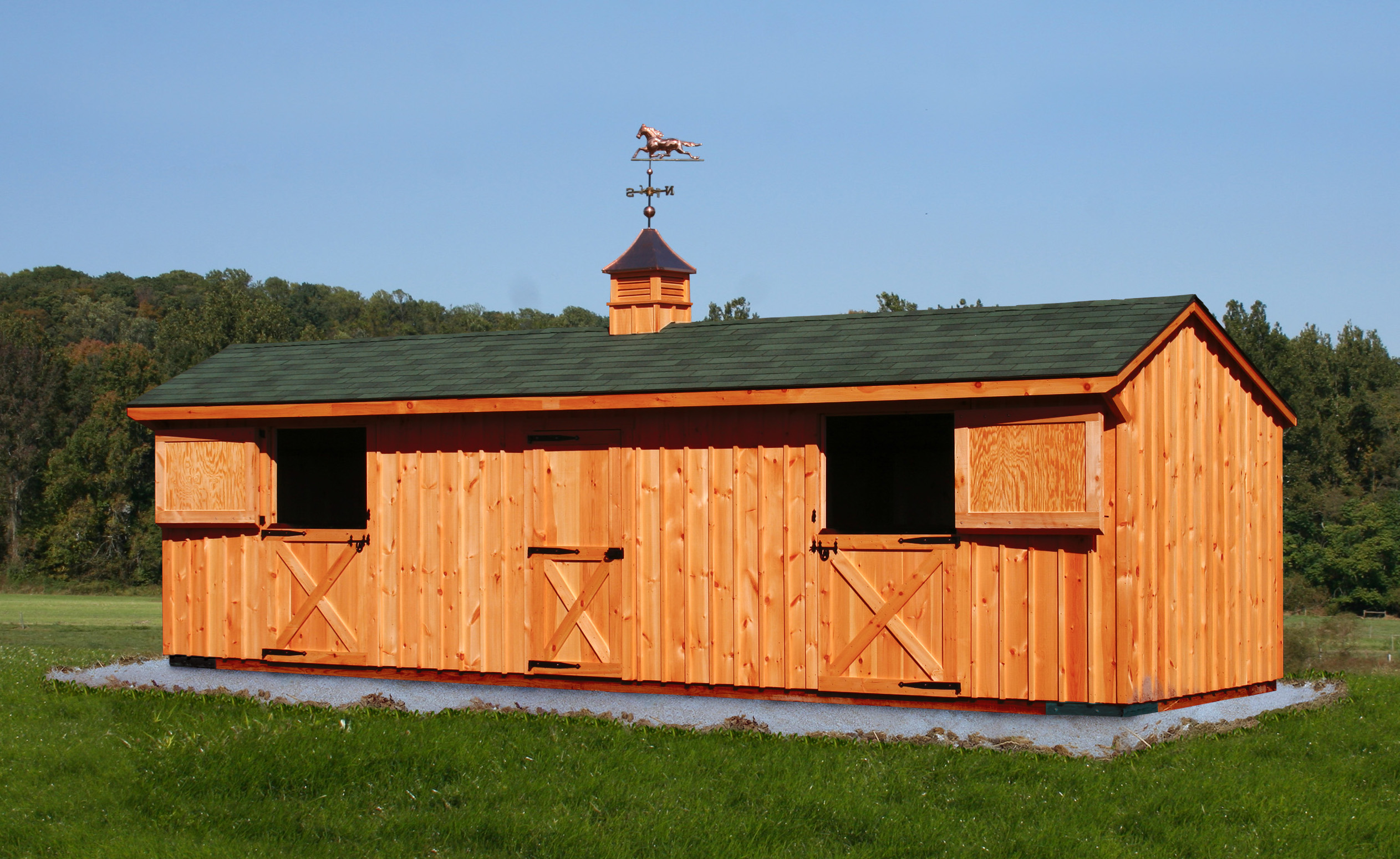Shed Garden Horse Barn Floor Plans Small